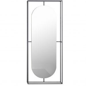 Kristina dam outline spegel - Svart