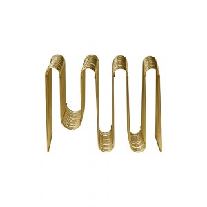 Curva Magazine holder gold, AYTM